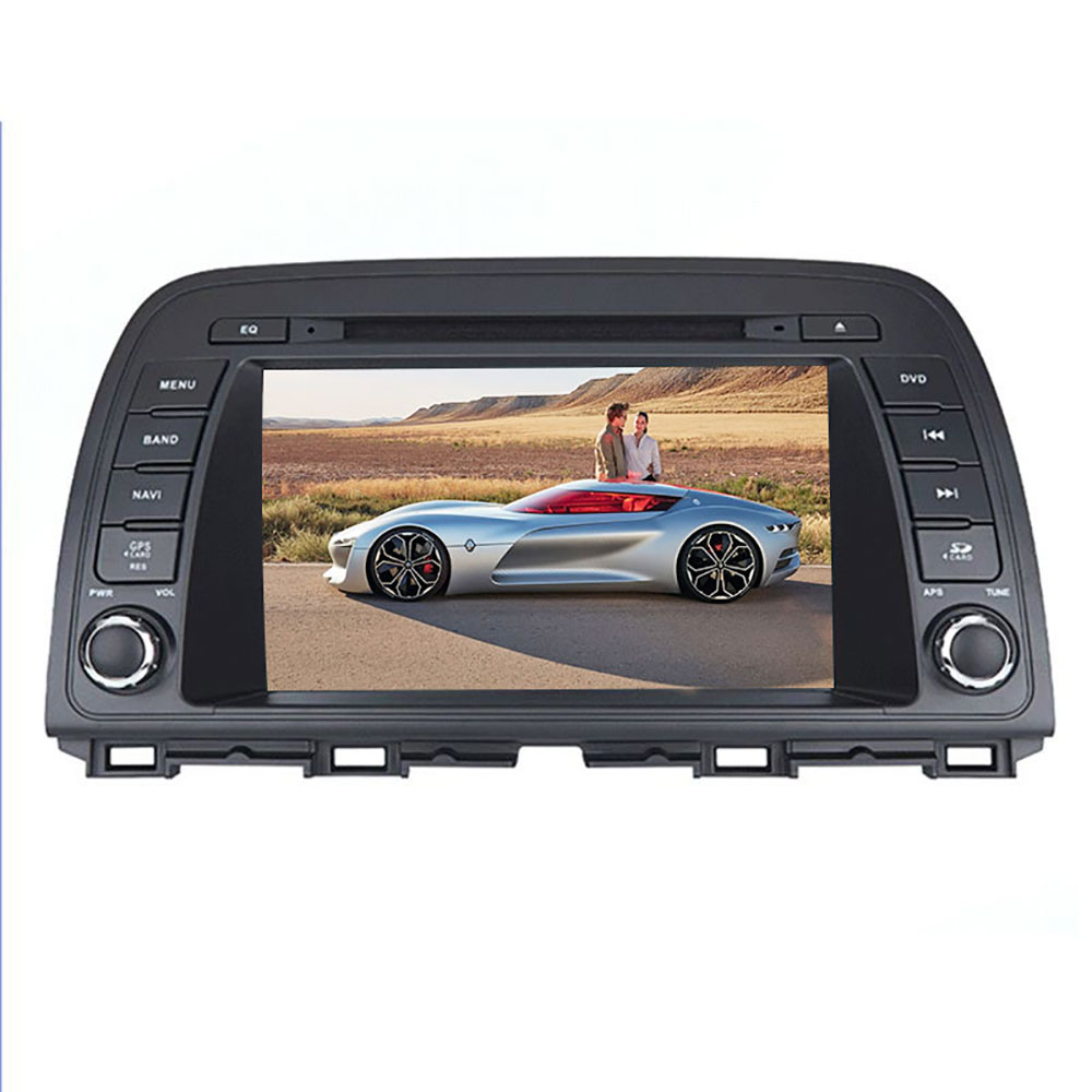 Automobiles Sat Nav <font><b>Android</b></font> Car Multimedia System for <font><b>Mazda</b></font> <font><b>Atenza</b></font> <font><b>6</b></font> 4K Video Player Touch Screen 2 Din Radio Bluetooth Phone image