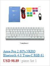 Клавиатура клавиатуры spacebar pbt пятисторонняя красящая подставка