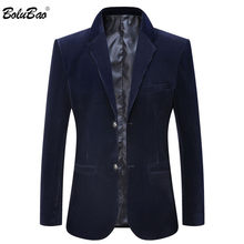 BOLUBAO Quality Brand Men Casual Blazers Spring Autumn New Men's Corduroy Suit Coats Business Solid Color Blazers Coat Male(China)