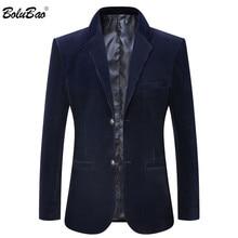 BOLUBAO Quality Brand Men Casual Blazers Spring Autumn New Men's Corduroy Suit C