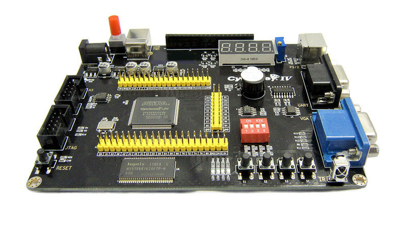 Image 5 - Altera Cyclone IV EP4CE6 FPGA Development Board NIOSII EP4CE PCB and USB Blaster Jtag AS Programmer-in Integrated Circuits from Electronic Components & Supplies