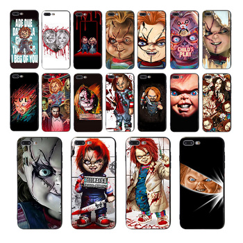 Child's play Cult of Chucky soft cover Coque phone case for iphone 7 8 11pro XS MAX X XR 6s 6 plus 5 se 10 5s TPU cartoon shell image