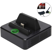 Portable Cooling Heat Dissipation Type C TV Dock Base Support Video USB 3.0 HDMI Compatible Dock Station for Nintend Switch Host