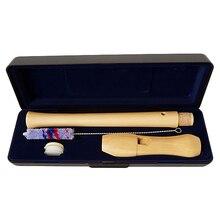 Деревянное записывающее устройство сопрано барокко 8 отверстий C Ключ кларнет Вертикальная флейта Dizi деревянные музыкальные инструменты