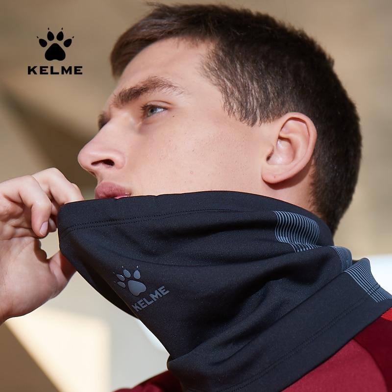 KELME Men Kid Sports Neckerchief Football Training Warm Outdoor Windproof Mask 9991572