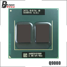 Intel Core 2 Quad Mobiele Q9000 SLGEJ 2.0 GHz Quad-Core Quad-Draad CPU Processor 6M 45W Socket P
