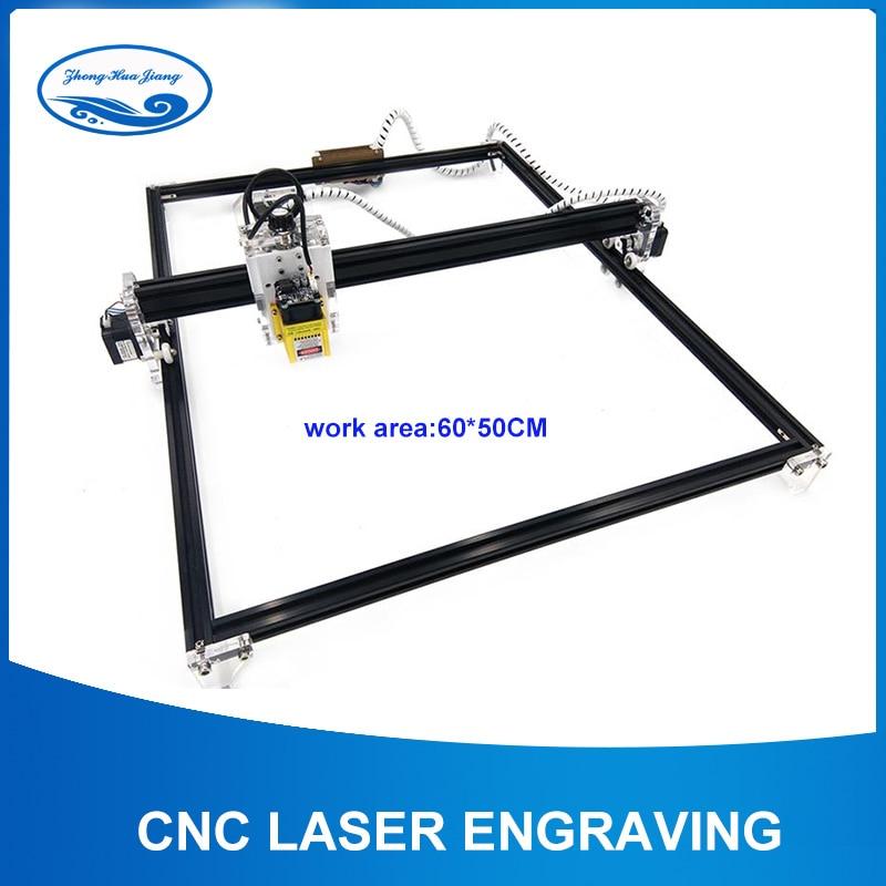 CNC Machine Laser Engraving,work Area:60*50 Cm,CNC Laser Engraving Marking Machine,DIY Laser Cutter Machine,Carved Metal