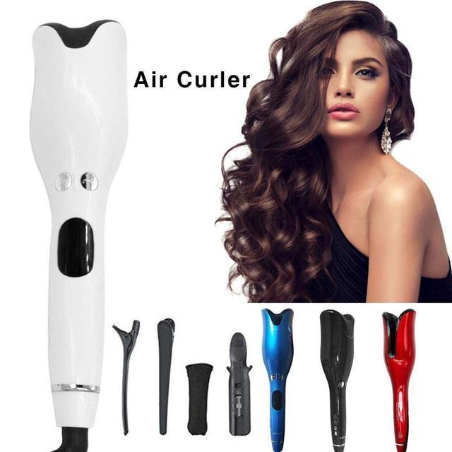1 Inch Automatic Curling Iron Titanium Salon Air Spin N Curler Wand Rotating Magic Hair Curling Iron Hair Styling Dropshipping 1