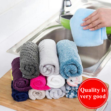 Non-Stick Oil Wipes Absorbent Wipes Kitchen Dish Towel Bamboo Fiber Wipes Lint-Free Cleaning Cloth Dish Towel