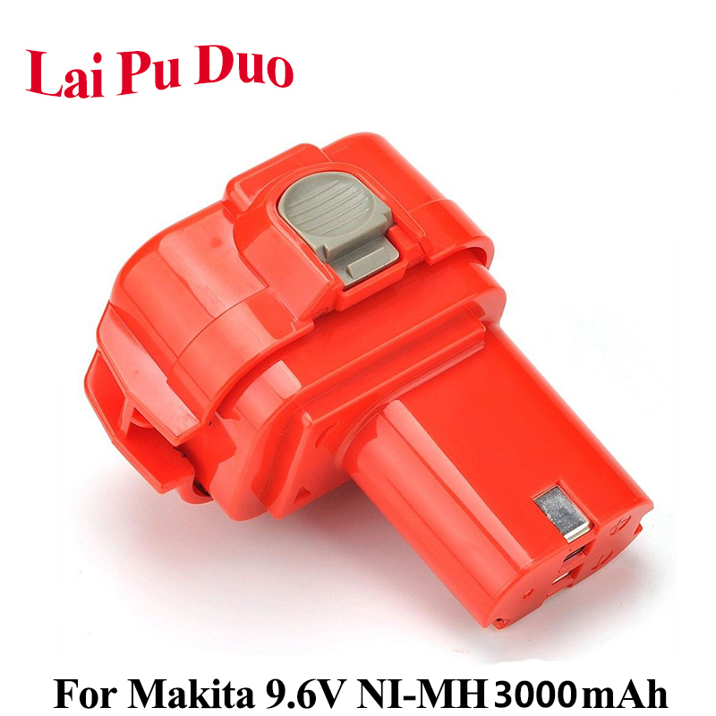 3.0Ah <font><b>9.6V</b></font> NI-MH Power Tool <font><b>Battery</b></font> For <font><b>Makita</b></font> :<font><b>9120</b></font>, 9122, 9133, 9134, 9135, 9135A, 6222D, 6260D,192019-4,192534-A,6261DWPE image
