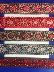 5cm nations style jacquard ribbon,embroidery webbing,guitar strap ribbon,bag accessories ribbon,shoes accessories,strap ribbon.