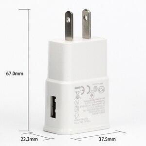 Image 3 - 100 комплектов 5В 1а ЕС США вилка настенное зарядное устройство с USB кабель для передачи данных синхронизации микро мобильный телефон кабель для Samsung Galaxy S7 Edge S6 S5 телефон