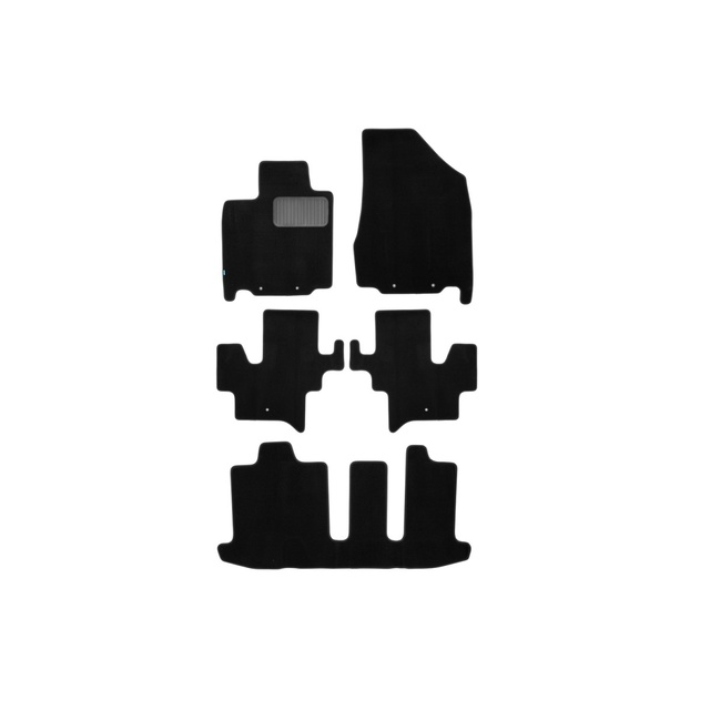 Floor mats Klever premium Infiniti JX automatic 2012-2014, cross, 5 W
