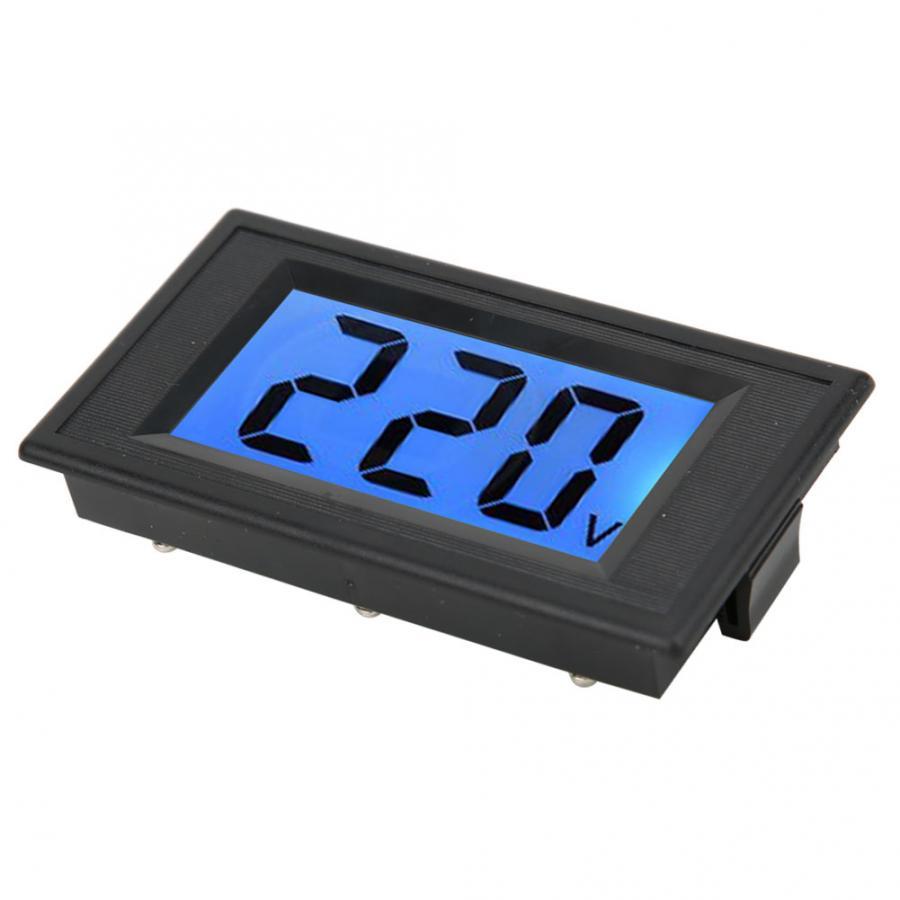 LCD Two-Wire Digital Display Voltmeter AC Voltage Tester Meter Panel AC80-500V