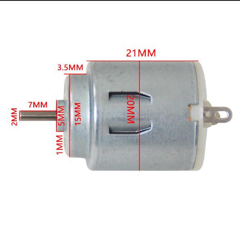 """140 мотор с шкив 3 V-6 V маленький электродвигатель постоянного тока """"сделай сам"""" небольшое производство/тележка мотор"""
