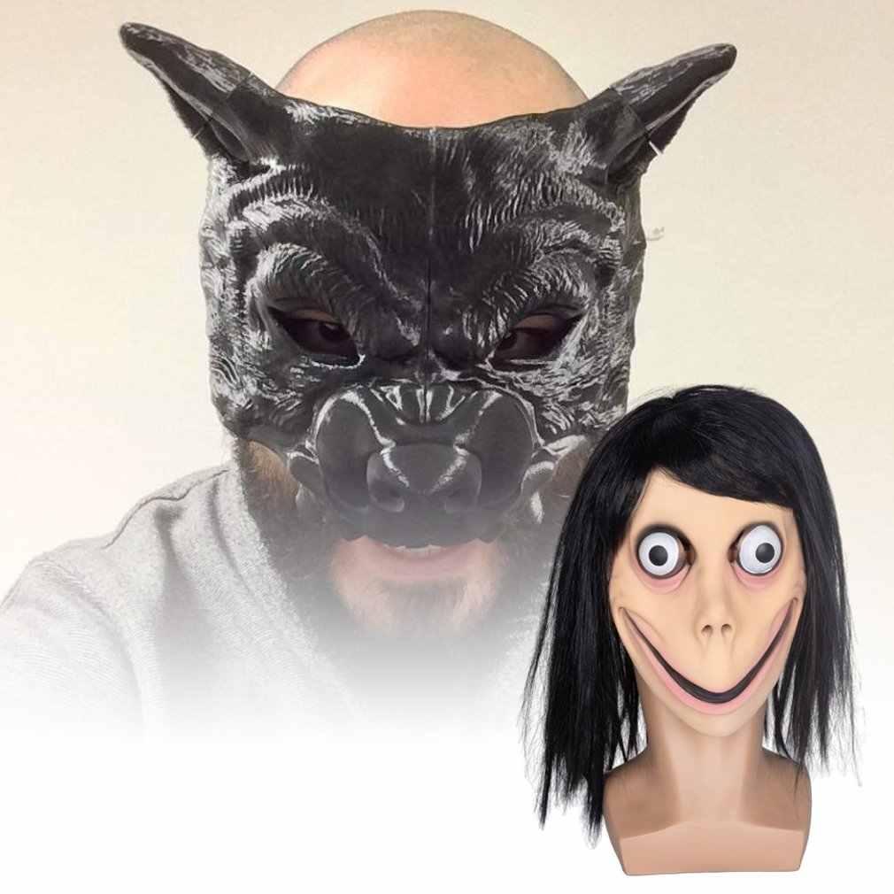 Хэллоуин Скорпион ведьма маска ужаса инопланетянин старый человек головной убор призрак детектива зомби ходячие мертвые зомби-Дьявол маска