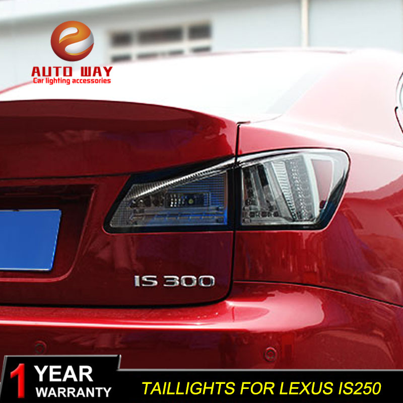 Car Styling taillights case for <font><b>Lexus</b></font> <font><b>IS250</b></font> IS300 taillight 2006-2012 <font><b>TAIL</b></font> <font><b>Lights</b></font> LED <font><b>Tail</b></font> <font><b>Light</b></font> LED Rear Lamp Certa image