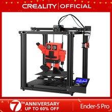CREALITY 3D Drucker Neue Ender-5 Pro Stille Bord Pre-installiert Magnetische Bauen Platte Power off Lebenslauf Druck Geschlossene Struktur