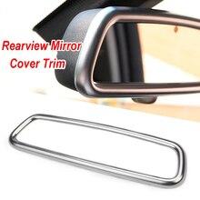 1x New Car Interior Rear View Mirror Cover Trim Frame for Land Rover Range Rover Sport Evoque Discovery 4 Volvo XC60 V60 S40 S60
