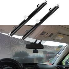 Автомобильный солнцезащитный козырек занавеска на заднее боковое стекло переднее заднее лобовое стекло Солнцезащитный блок мигает черный чехол на присоске универсальные автомобильные аксессуары