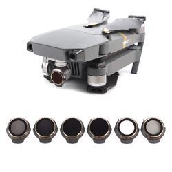 Sunnylife dla Mavic Pro filtr obiektywu MCUV CPL ND4 ND8 ND16 ND32 filtr do DJI MAVIC PRO i PLATINUM alfa i biały Drone filtry