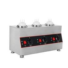 Электрическая машина для розлива соевого джема 3 бутылки из