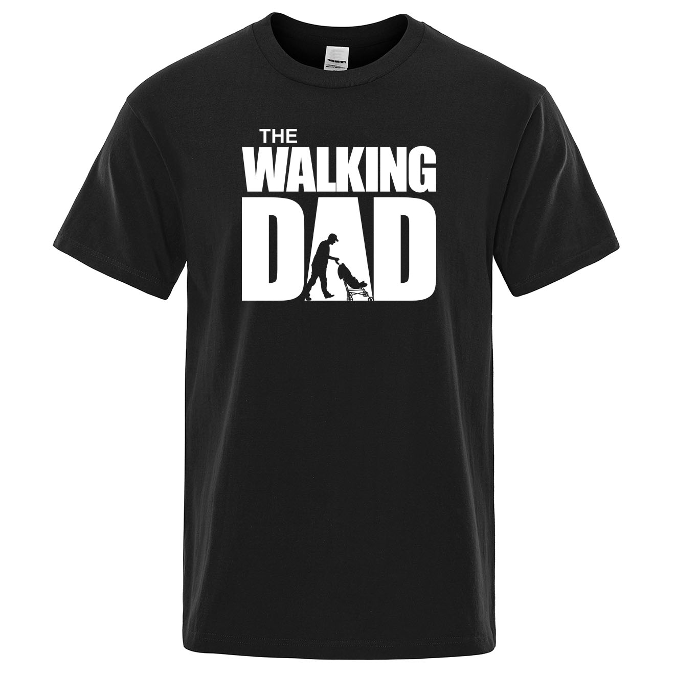 Summer T-shirt The Walking Dad T Shirt Men Cool Casual Mens Tshirt Fashion Hip Hop Tops Streetwear Father's Day Gift Tee Shirts