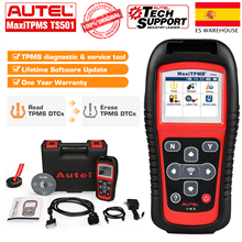 Autel Maxitpms Ts501 315 433Mhz Tpms Programming Tool, Activate Tpms Sensors Reads Clears Codes Obd2 Scanner Free Update