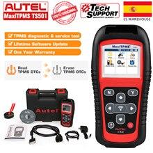Autel Maxitpms Ts501 315 433Mhz Tpms Strumento di Programmazione, Attivare I Sensori Tpms Legge Elimina I Codici Obd2 Scanner Gratuito di Aggiornamento