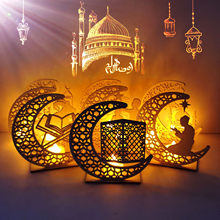 Moslim Ledeid Mubarak Houten Geschenken Kan Diy Decoratie Voor Eid Al Fitr Ramadan Decoratie Islamitische Hanger Feestartikelen