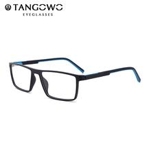 Okulary ramka kobiety TR90 okulary na receptę okulary do niebieskiego światła okulary dla osób z krótkowzrocznością kwadratowe okulary męskie okulary komputerowe 2020 tanie tanio TANGOWO Plastikowe tytanu Stałe 89015 FRAMES Okulary akcesoria Italy Optical Glasses Rectangle Glasses Frames Spectacle Glasses