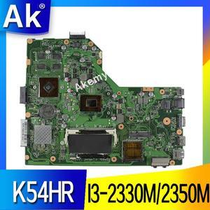 AK K54HR материнская плата для ноутбука ASUS K54HR X54HR X54HY K54LY X54H тест оригинальная материнская плата I3-2330M/2350M PM