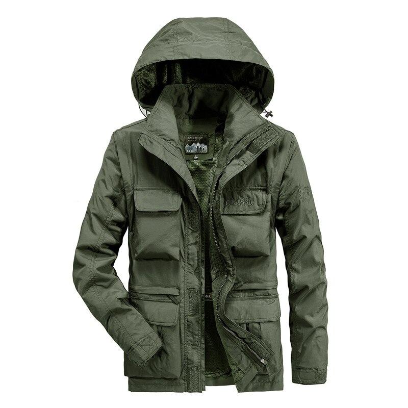 Мужская повседневная куртка бомбер, воздухопроницаемая куртка на осень и зиму, 2019|Куртки|   | АлиЭкспресс