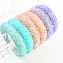 2021 moda nowa wiosna akrylowe ryż koralik włosów akcesoria proste podkreślające Temperament Gorgeous Style Ladies pałąk