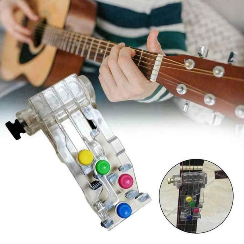 Classical Guitar Teaching Aid Guitar Learning System Study Practice Aid ABS Chord Buddy Lesson Play Learning Guitar Aids Tools