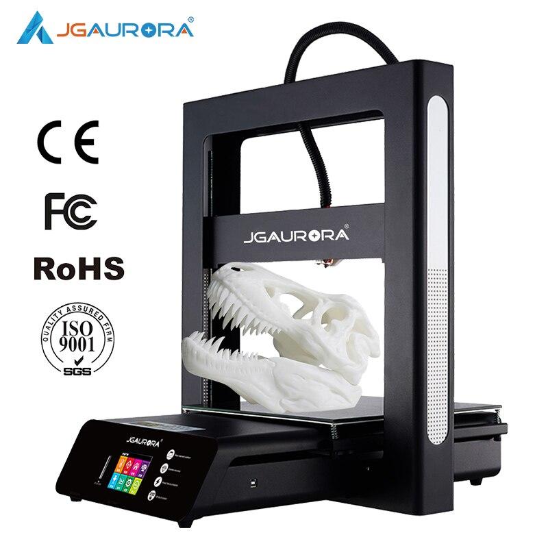 Máquina de Impressão de Impressora A5 Atualizado A5S 3D JGAURORA 3D Extrema Alta Precisão Máquina de Grande Porte de Construção I3 DIY Kit FDM impressora