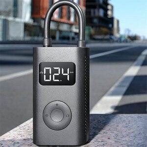 Image 5 - Original xiaomi Mijia Inflator Portable Smart Digital Tire Pressure Sensor Electric Pump for Motorcycle Motorcycle Car Soccer