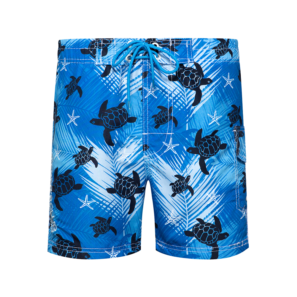 New Beachwear Cool Board Shorts Mens Quick Dry Pants Man 3D Digital Turtle Printing Casual Vacation Summer Male Shorts EURO Size