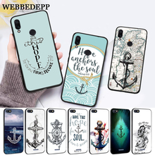 WEBBEDEPP Nautical Tattoo Silicone Case for Xiaomi Redmi Note 4X 5 6 7 Pro 5A  Prime все цены