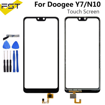 Doogee N10 / Y7 5.84''Black Perfect Repair Parts For Doogee Y7 Touch Panel Sensor Glass Lens Phone+Tools