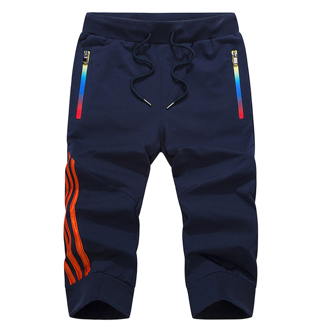 LBL verano Pantalones cortos casuales de rayas para Hombre Ropa Deportiva pantalones cortos de chándal pantalones transpirables pantalones cortos de hombre Envío Directo