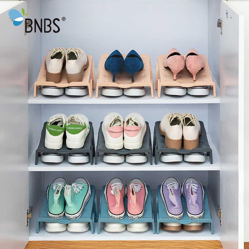 Schuh Rack Organizer Lagerung Box Stehen Für Schuhe Regal Kunststoff Shoerack In Die Schrank Schuhe Lagerung Rack Regale Hause Liefert