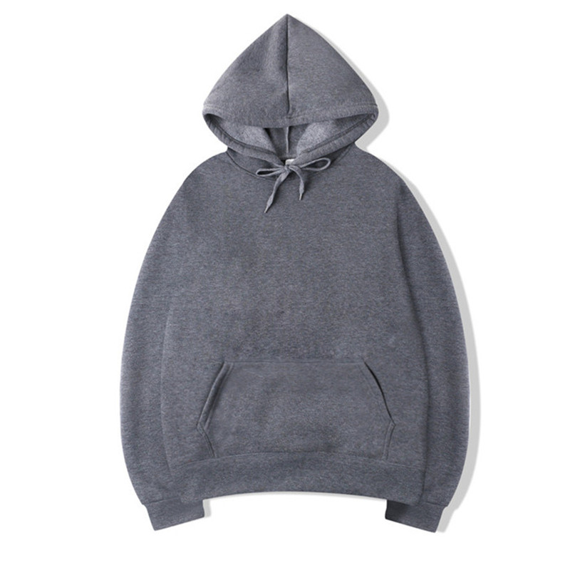 Brand Men Hoodie 2019 Autumn Male Hip Hop Streetwear Men Pullover Sweatshirts Hoodies Mens Solid Color Hoodie