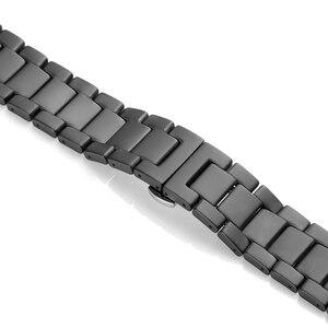 Image 4 - 20 22 ミリメートルセラミックバンドのための samsung gear s2 S3/銀河 46 ミリメートル 42 ミリメートル交換用ストラップ huawei watch GT/ 名誉魔法の時計 2 ストラップ