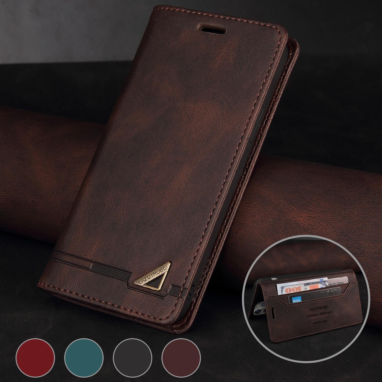 Brieftasche RFID Sperrung Schützen Leder Fall Für Samsung Galaxy Note 20 Note 10 Pro S21 S20 FE S10 S9 S8 plus Ultra Flip Telefon Fall