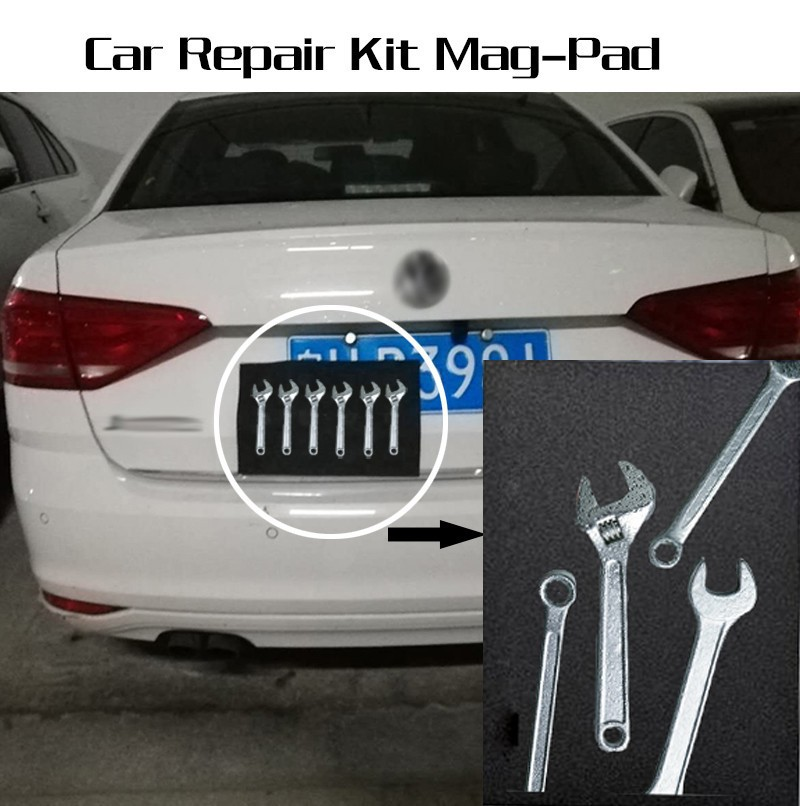 Portable Car Repair Accessories Mag-Pad Magnetic Pad Holds Your Tools While Working Repair Tool Storage Mat DFDF
