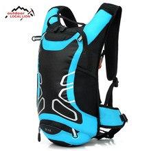 12l ciclismo hidratação mochila esporte ao ar livre noite reflexiva correndo mochila com opcional 2l bexiga saco de água