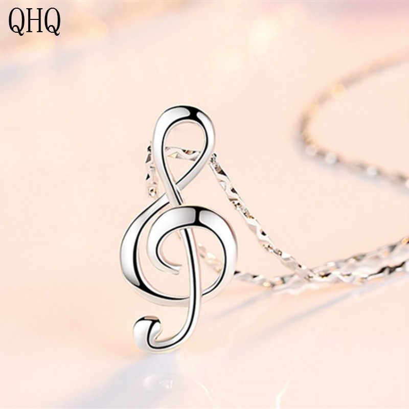 QHQ collane & pendenti geometrica della catena chocker di modo di colore argento donne amici neckless accessori femminili regali della boemia