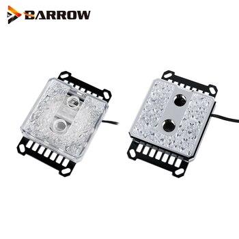 Barrow CPU bloque de agua para plataforma AMD Ryzen 5V cabezal de luz de 3 pines, procesador AM4 Copper Cooler LTIFHA-04
