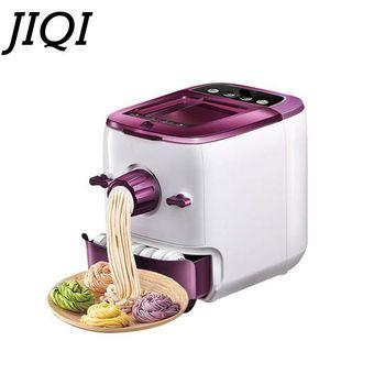 JIQI Random 5 Moulds Automatic Electric Pasta Machine DIY Vegetables Noodle Maker Dumpling Shell Maker 220V